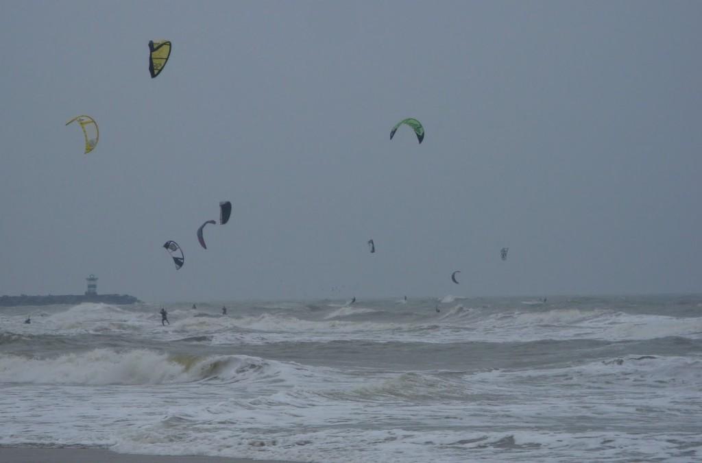 Kites in Wijk aan Zee