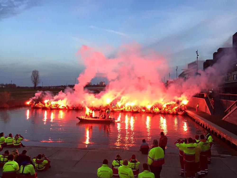 Serious Rescue readingsbrigade Wijk aan Zee